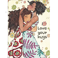 image of Love Your Hugs greeting card