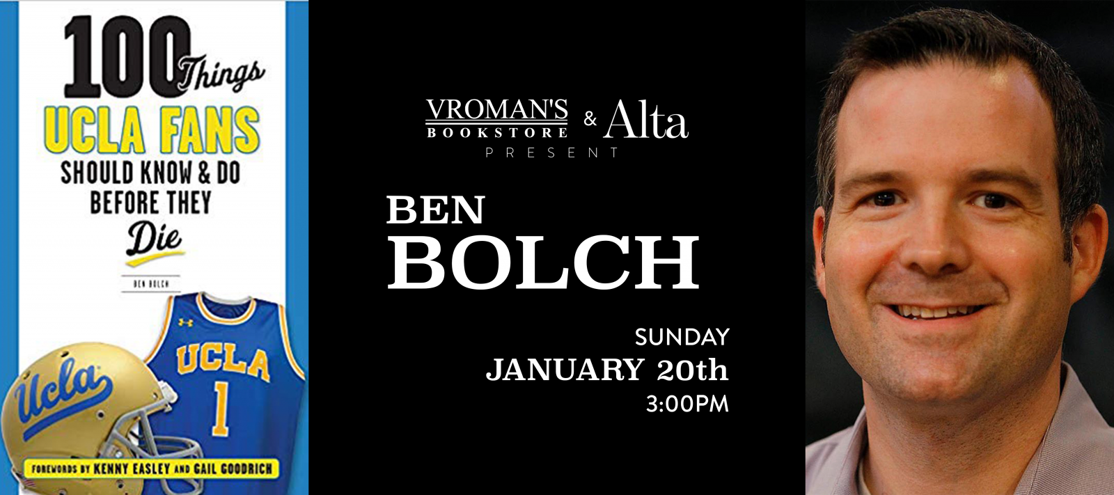 Ben Bolch Book Signing