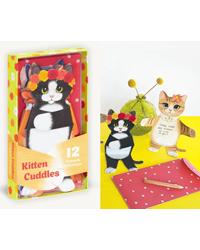 Image of Kitten Cuddles Notecards