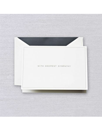 Image of Pearl White Sympathy Cards