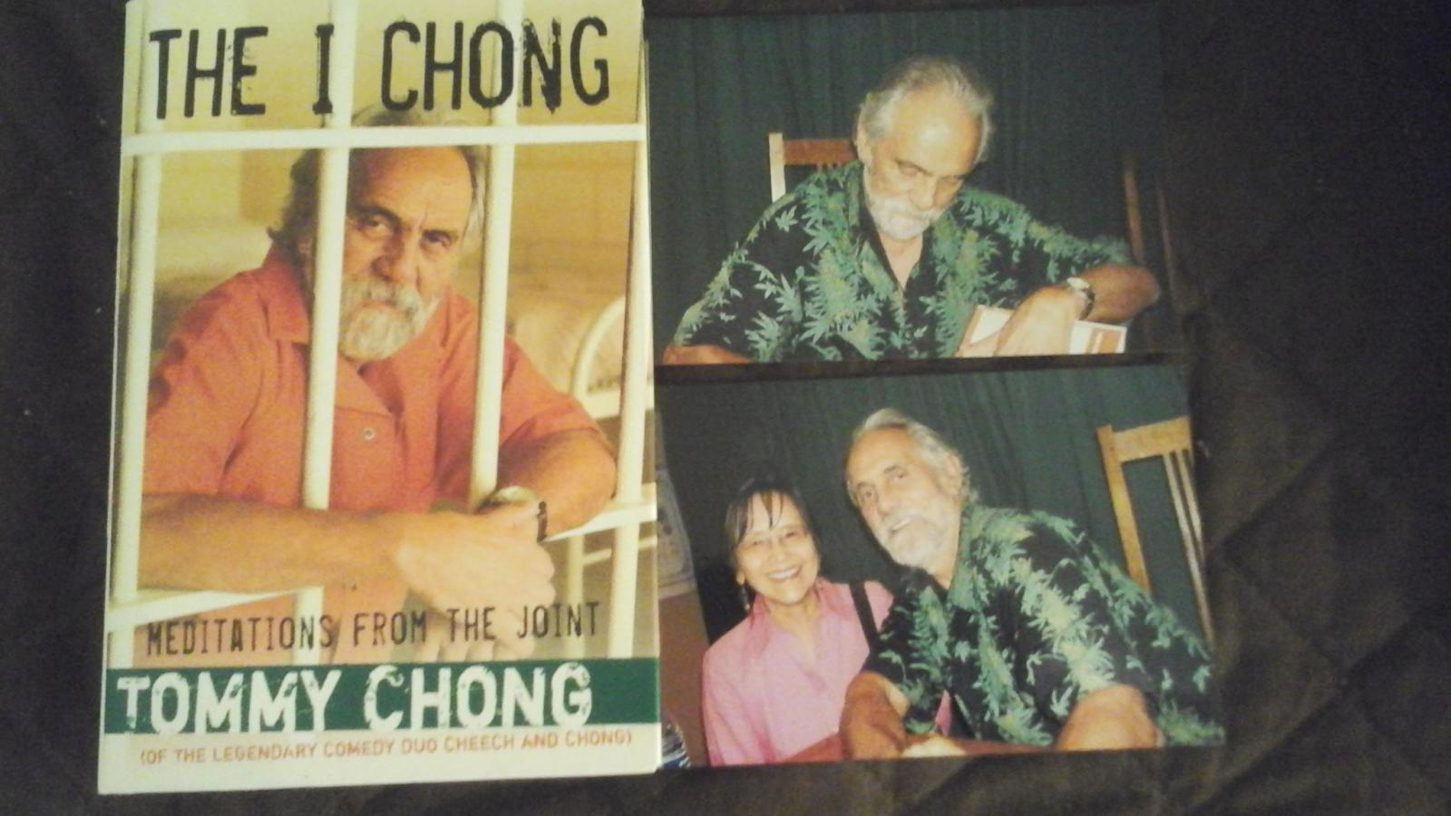 Photo of Doris with Tommy Chong