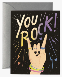 Image of You Rock Boxed Cards