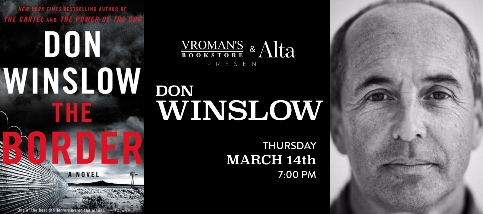 Don Winslow Book Signing