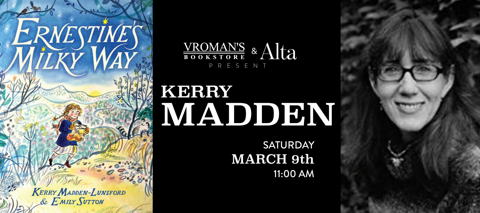 Kerry Madden Book Signing Saturday March 9th at 11am