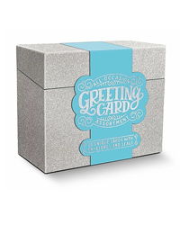 Image of Silver Glitter Boxed Cards