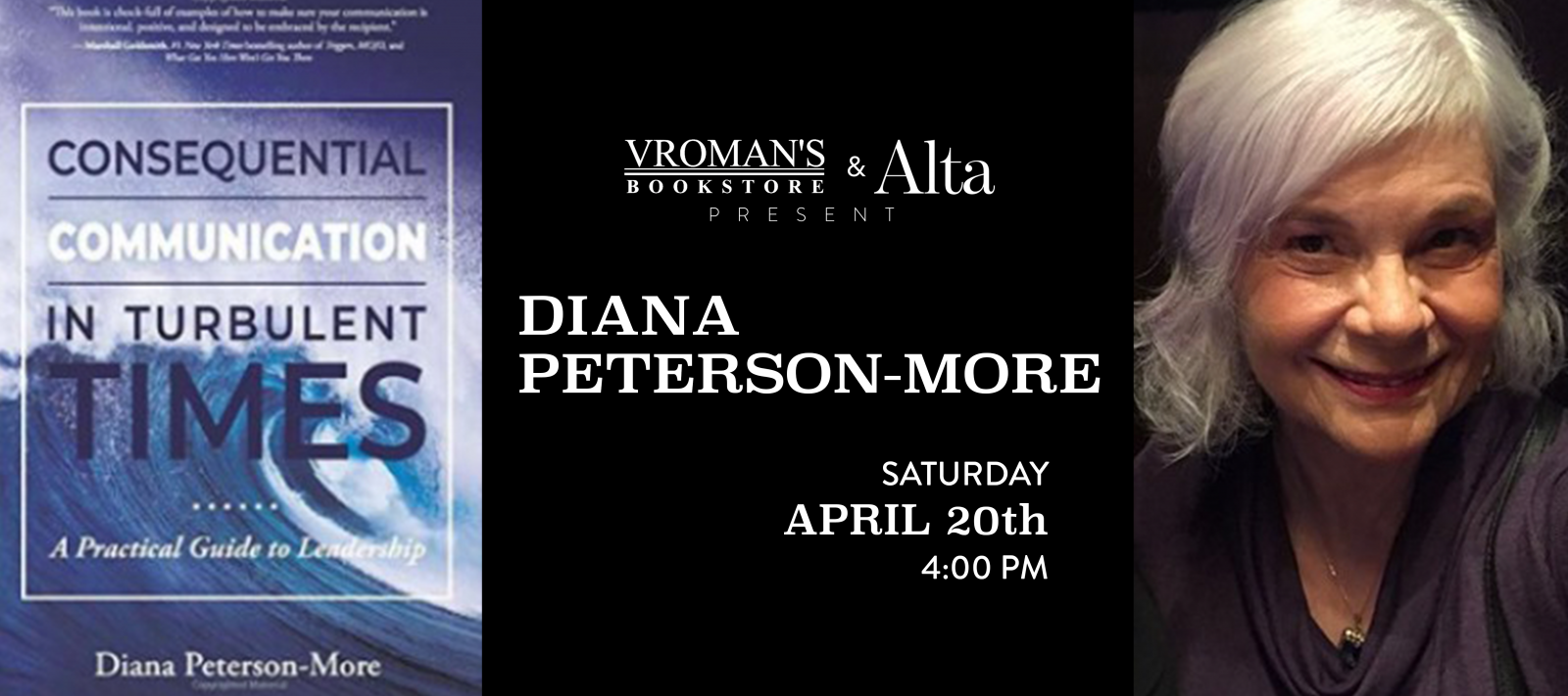 Diana Peterson-More signing