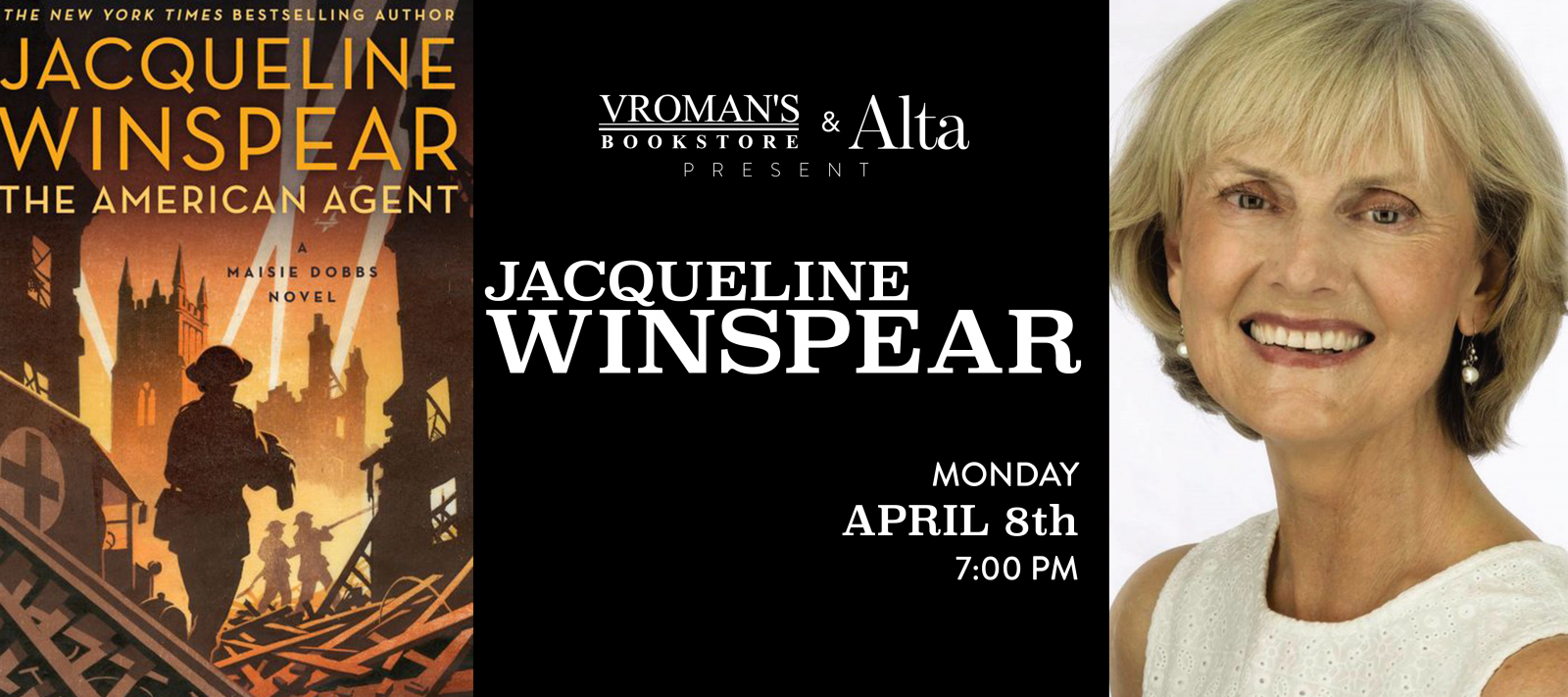 Jacqueline Winspear Book Signing