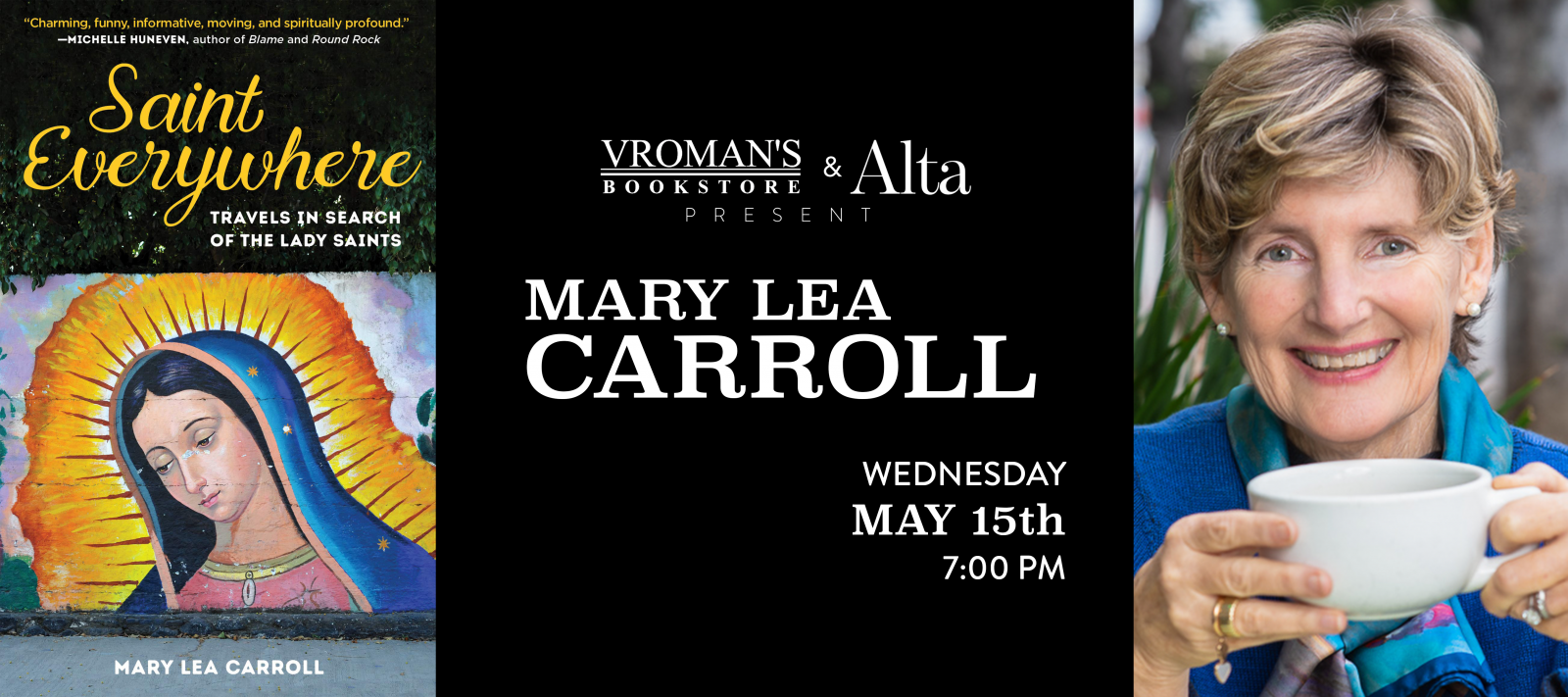 Mary Lea Carroll book signing Wednesday May 15th at 7pm