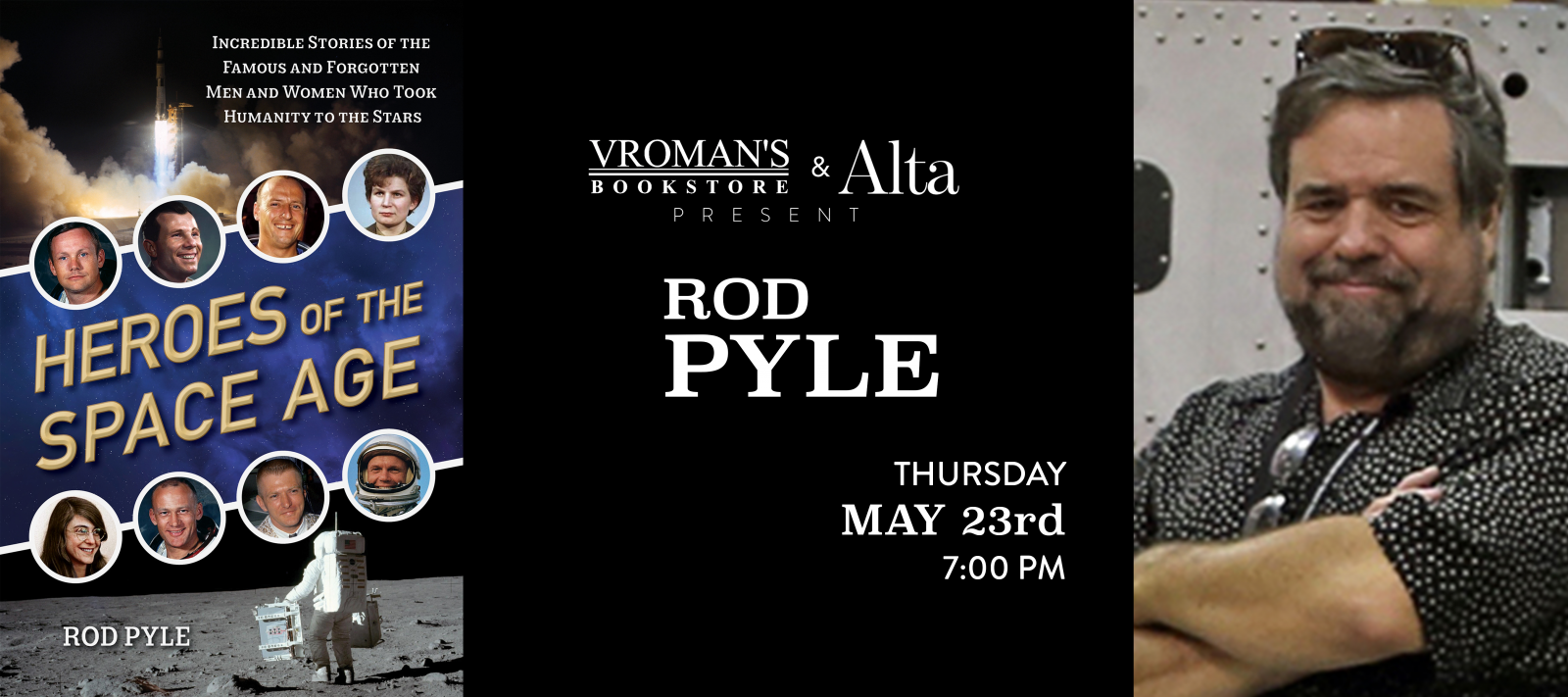 Rod Pyle book signing