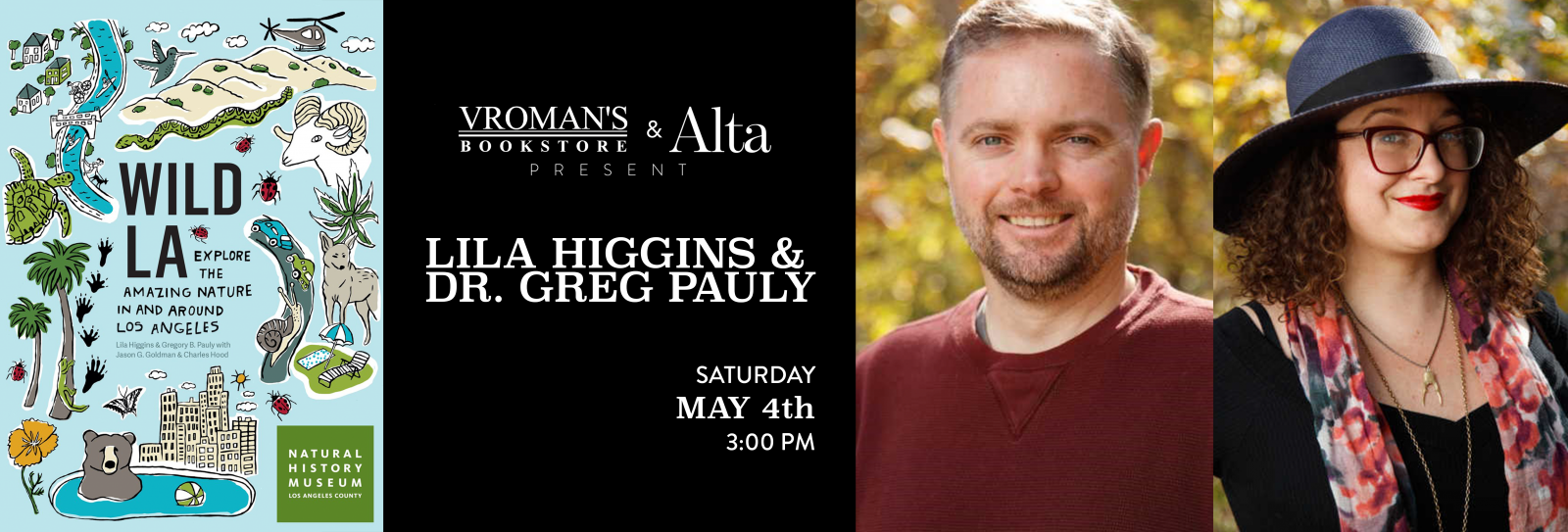 Lila Higgins and Greg Pauly Book signing