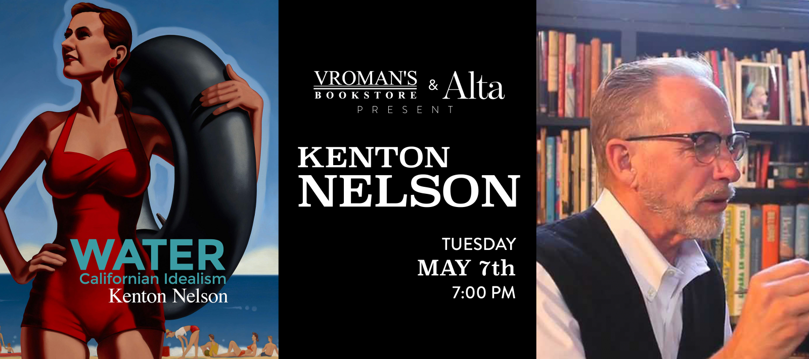 Kenton Nelson book signing Tuesday May 7th at 7pm