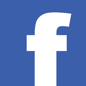 Facebook Logo (blue background with white lower case f)