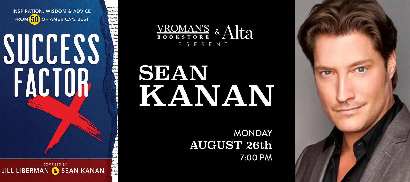 Sean Kanan book signing