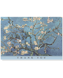 image of Almond Blossom Boxed Thank You Cards