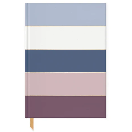 image of Amethyst Stripes Journal front cover