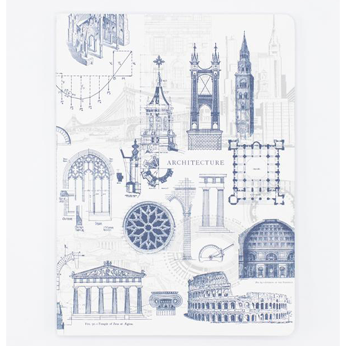 image of Architecture Softcover Dot Grid Journal front