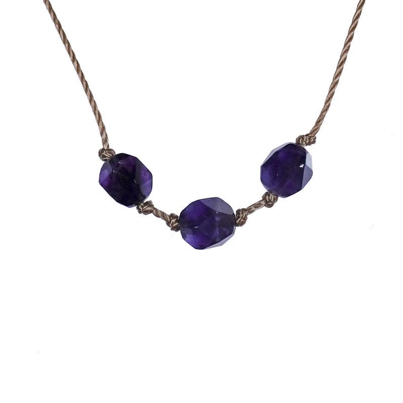 Image of Aries Amethyst Necklace