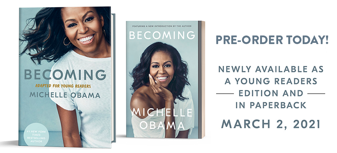 preorder the new editions of Becoming today!