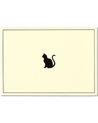 image of Black Cat Boxed Note Cards