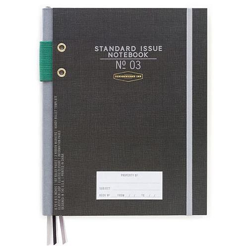 image of Black Standard Hardcover Journal