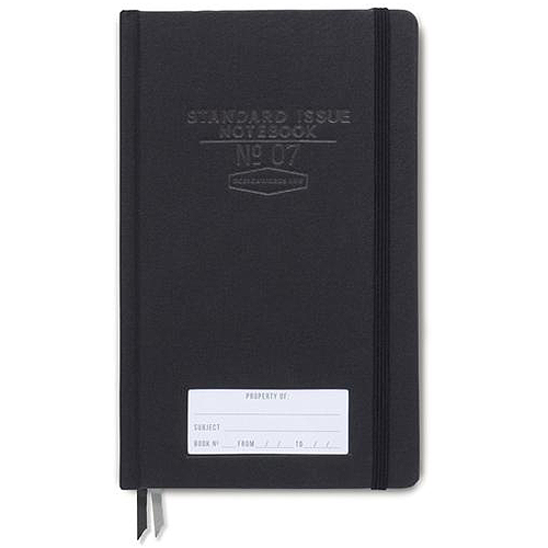 image of Black Standard Issue Dot Grid Journal cover