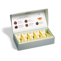 image of Black Tea Petite Box open