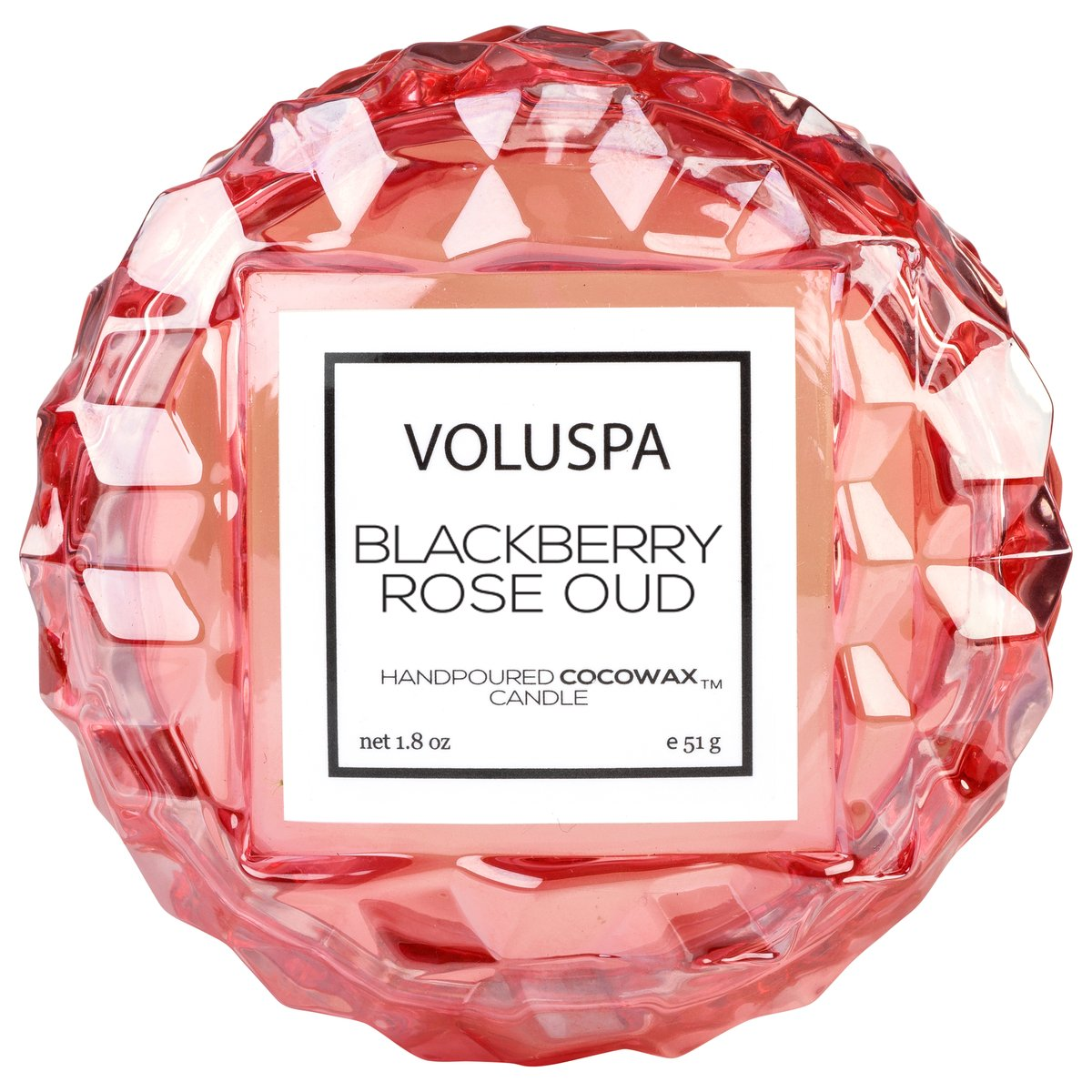 Blackberry Rose Oud Macaron Candle