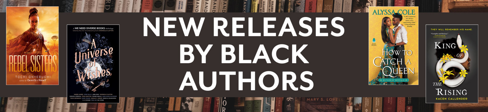 Browse new releases by Black authors here