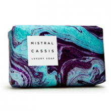 Image of Cassis Marble Soap (Blue and Purple Marble)