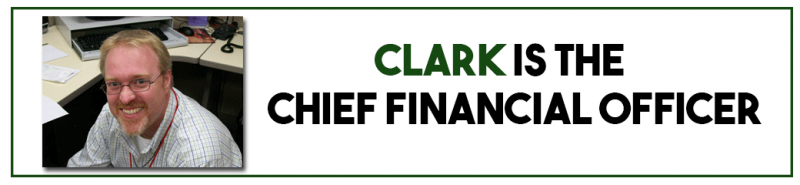 Clark is the Chief Financial Officer