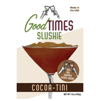 image of cocoa-tini packaging