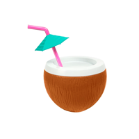 Image of Coconut Sipper