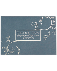 image of Condolence Boxed Thank You Cards