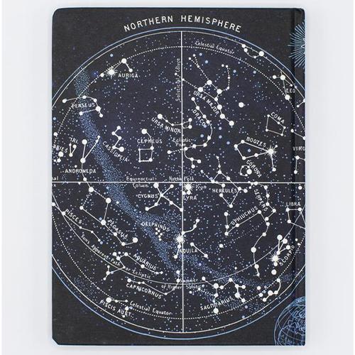 image Constellations Hardcover Dot Grid Journal back