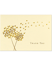 image of Dandelion Wishes Boxed Thank You Cards