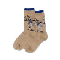 Image of Degas The Dancer Women's Crew Socks