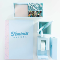 Image of Feminist Agenda Blue Notebook