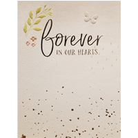 Image of Forever In Our Hearts Card