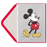 Image of Mickey Mouse Card