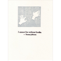 Image of Without Books Card