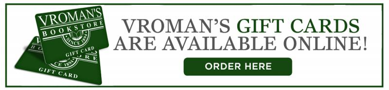 Vroman's Gift cards are available to purchase online