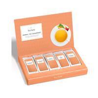 Image of Herbal Tea Single Steep Box open