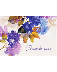 image of Lilacs Boxed Thank You Notes