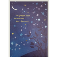 Image of Moon and Stars Card