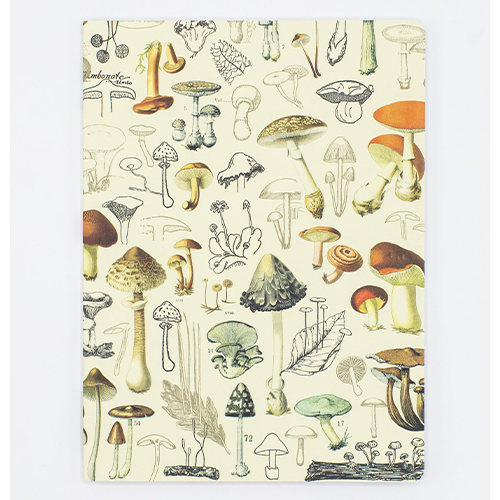 image of Mushrooms 2 Dot Softcover Journal