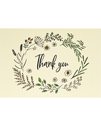 image of Native Botanicals Boxed Thank You Cards