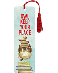 image of Owl Keep Your Place Bookmark