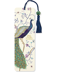 image of Peacock Bookmark