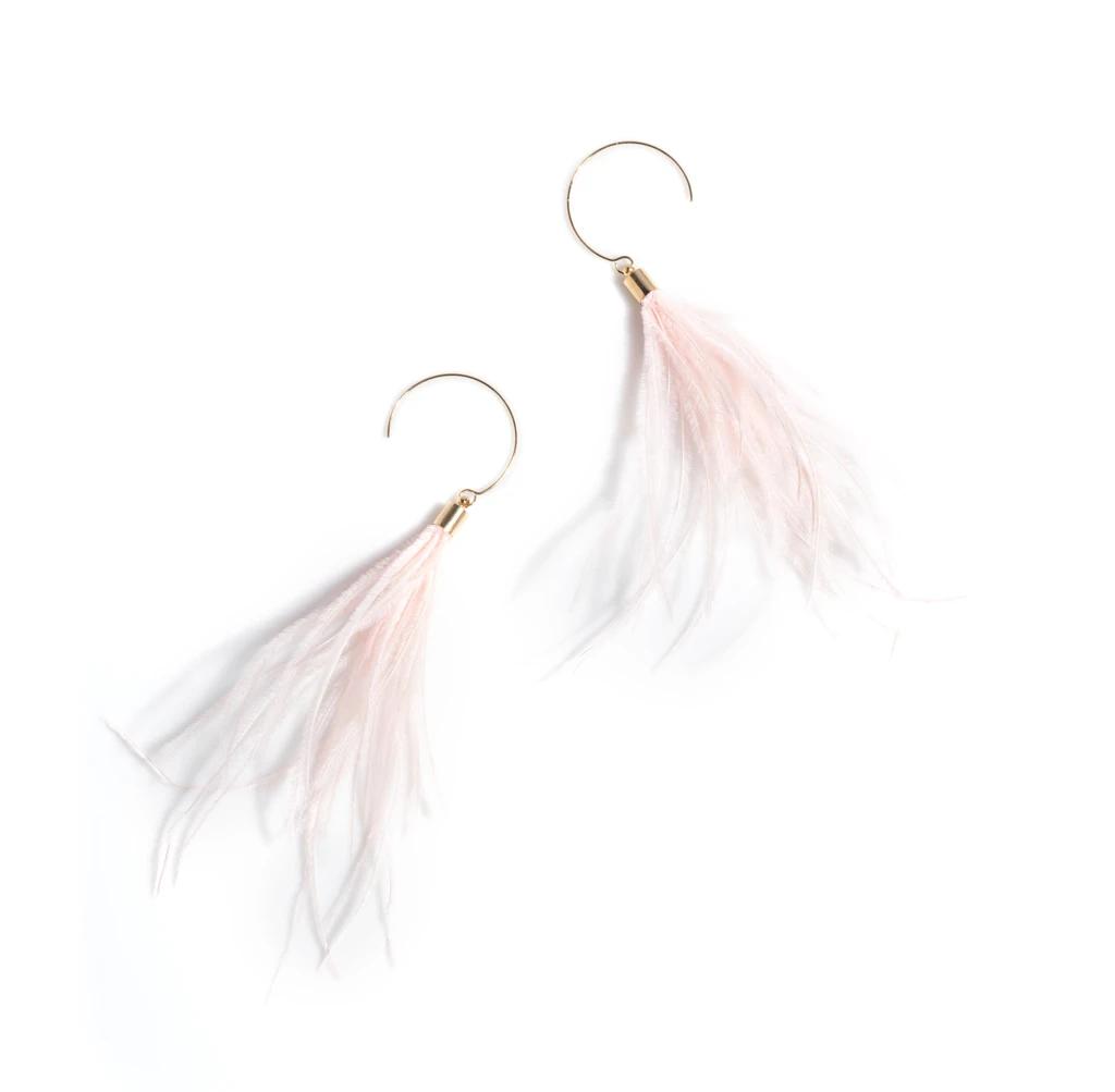 Image of Pink Vivi Earrings