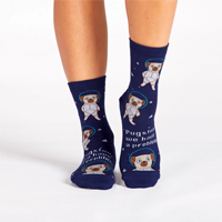 Image of Pugston Women's Crew Socks